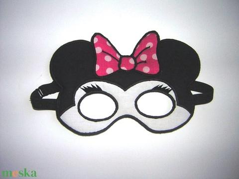 Minnie Mouse  álarc gyerekeknek - ruha & divat - jelmez & álarc - álarc - Meska.hu