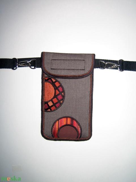 Mobiltok  Plus-os méretű telefonokhoz Övtáska - Meska.hu