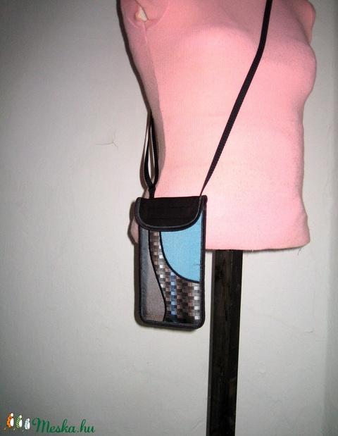 Mobiltok nagyméretű telefonokhoz állítható pántos kistáska oldaltáska telefontok - táska & tok - pénztárca & más tok - telefontok - Meska.hu