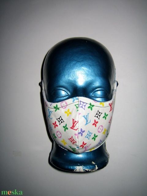 Szájmaszk orrmerevítős fülre akasztható arcmaszk textil maszk  - Meska.hu
