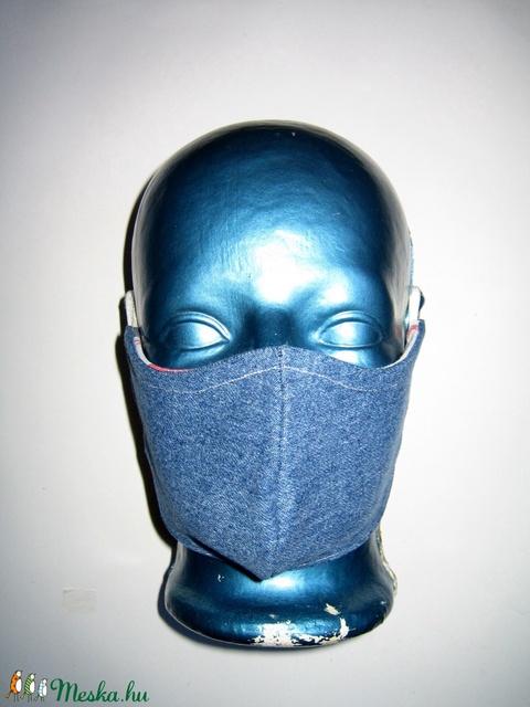 Szájmaszk fülre akasztható farmer arcmaszk biciklis maszk   - Meska.hu