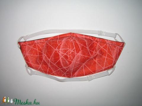 Szájmaszk szabályozható gumis arcmaszk textil maszk   - Meska.hu