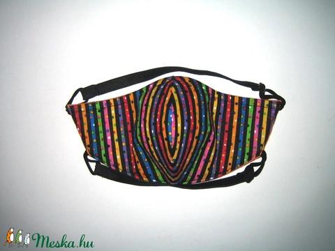 Szájmaszk szabályozható gumis arcmaszk biciklis maszk   - Meska.hu