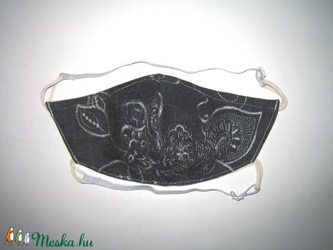 Egyedi elegáns szájmaszk állítható gumival arcmaszk biciklis maszk hímzett farmer - maszk, arcmaszk - női - Meska.hu