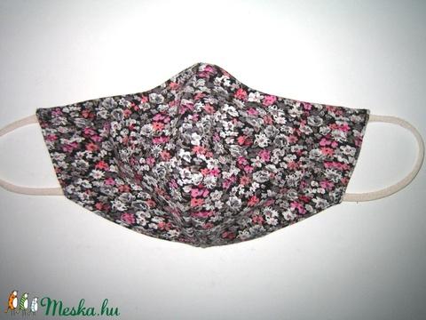 Egyedi- szájmaszk szemüvegeseknek orrmerevítős arcmaszk textil maszk virágos - Meska.hu