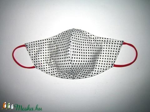 2in1 Minnie-mouse Szájmaszk arcmaszk biciklis maszk   - Meska.hu