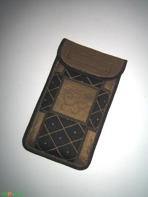 Mobiltok Plus-os telefonokhoz Elegáns mobil tartó Empire Stílus fekete-óarany - Meska.hu