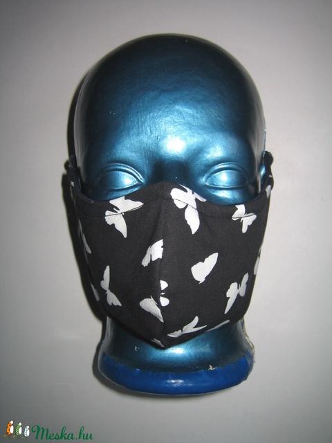 Lepkés szájmaszk orrmerevítős arcmaszk egyedi textil maszk - Meska.hu