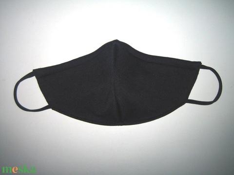 Orrmerevítős szájmaszk fekete arcmaszk biciklis maszk London - Meska.hu
