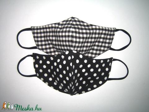 2 db orrmerevítős szájmaszk 4in2 arcmaszk textil maszk   - Meska.hu