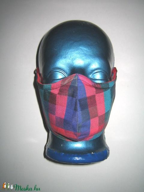 Egyedi maszk orrmerevítős arcmaszk fülre akasztható védő maszk pixel mintás - Meska.hu