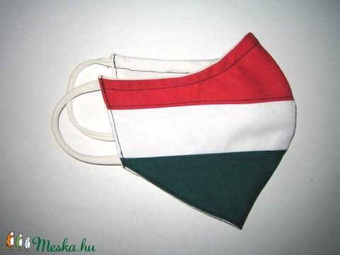Egyedi Szájmaszk fülre akasztható arcmaszk nemzeti színű biciklis maszk   - Meska.hu