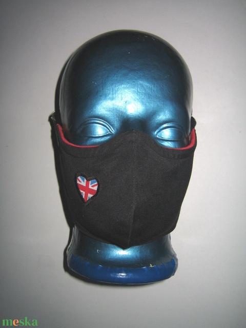 Orrmerevítős szájmaszk 2in1 arcmaszk biciklis maszk Anglia - Meska.hu