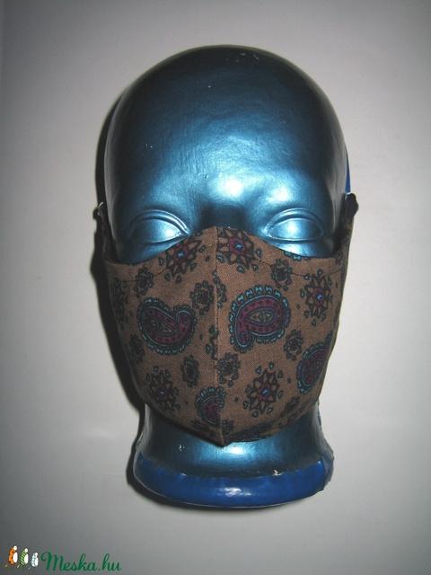 Egyedi szájmaszk fülre akasztható arcmaszk textil maszk Kasmír mintás - Meska.hu