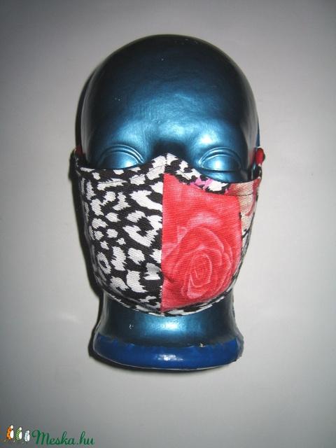 Egyedi Szájmaszk szemüvegeseknek orrmerevítős arcmaszk textil maszk  - maszk, arcmaszk - női - Meska.hu