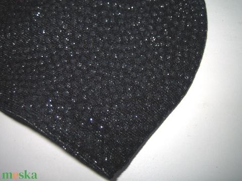 Sötétkék-Ezüst csillogó szájmaszk orrmerevítős fülre akasztható maszk exkluzív textilmaszk - Meska.hu
