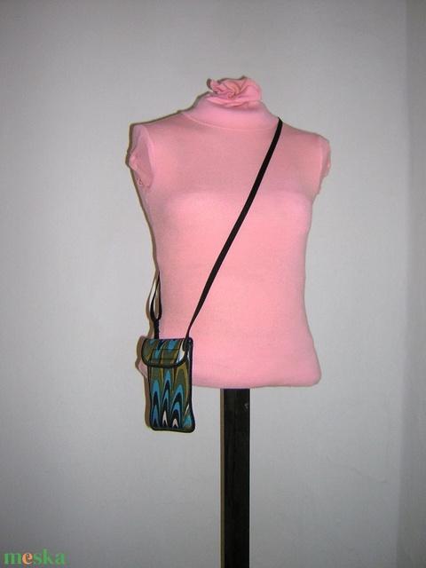 Telefontok állítható pánttal  XL telefon tartó Nyakba akasztható kistáska oldaltáska   - táska & tok - pénztárca & más tok - telefontok - Meska.hu