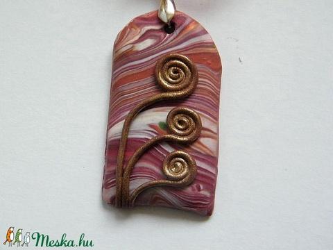 Őszi emlék medál életfa motívummal - ékszer - nyaklánc - medálos nyaklánc - Meska.hu