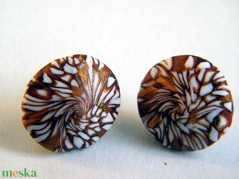 Minivirágok ékszerszett medál és fülbevaló - Meska.hu