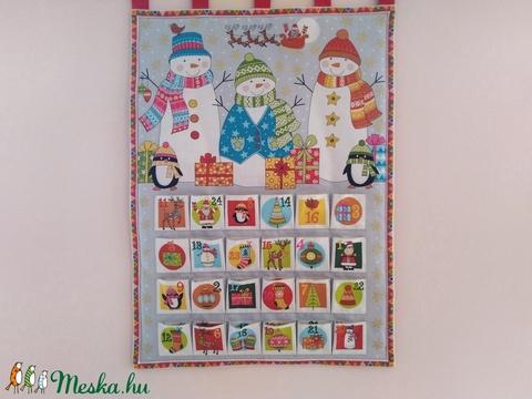 Hóemberek Karácsonyi adventi naptár,kalendárium (MonikaFashion) - Meska.hu