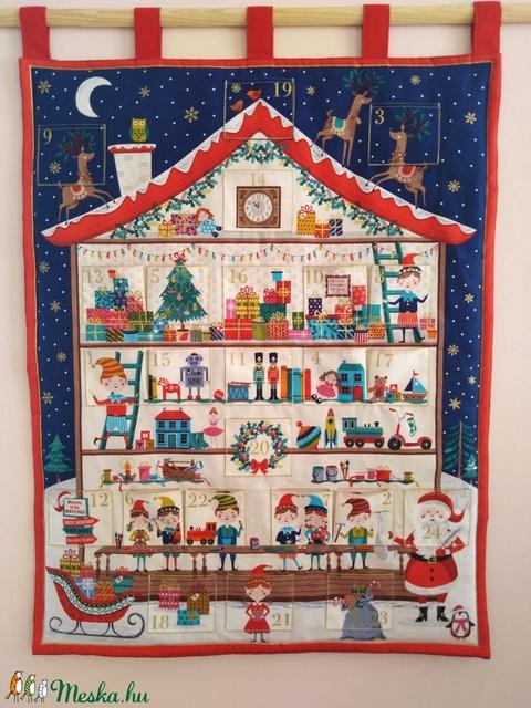 Adventi naptár,Karácsonyi dekoráció (MonikaFashion) - Meska.hu