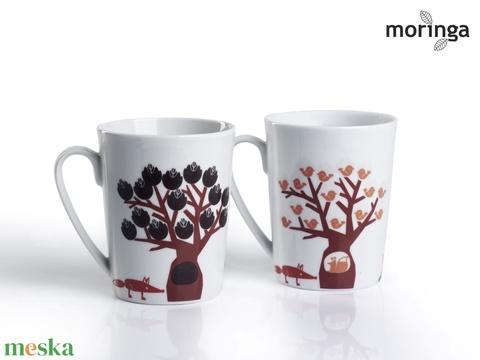 Fák alatt (hőre változó, hőérzékeny bögre) (Moringa) - Meska.hu
