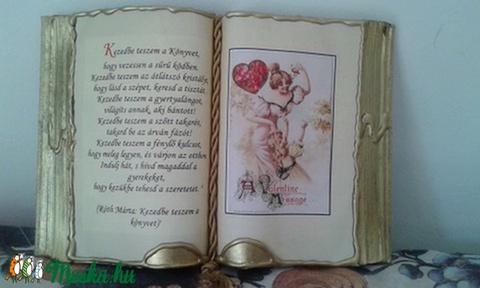 Antik díszkönyv - Meska.hu