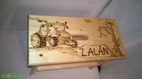 Traktoros sámli (nagyfanyuvo) - Meska.hu