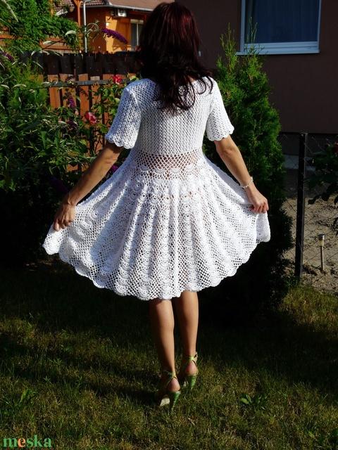 Romantikus horgolt ruha (nagyikotodeje) - Meska.hu