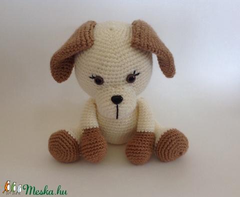 Kölyök kutyus - amigurumi (Nagymamus) - Meska.hu