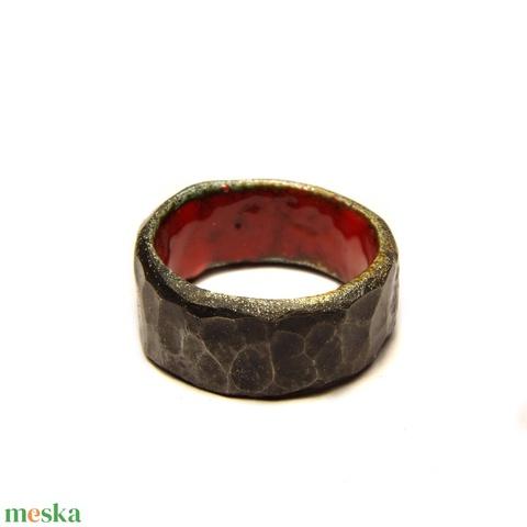 Belső szépség gyűrű (Nakedsilver) - Meska.hu