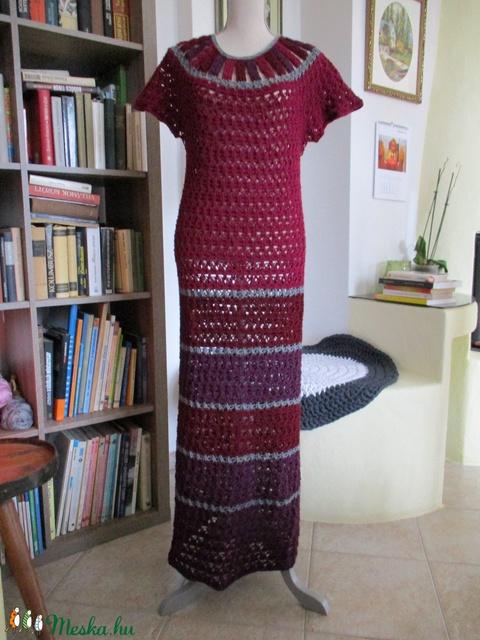 Horgolt női ruha - Meska.hu