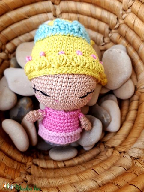Pinky hercegnő - horgolt amigurumi (nemanita) - Meska.hu