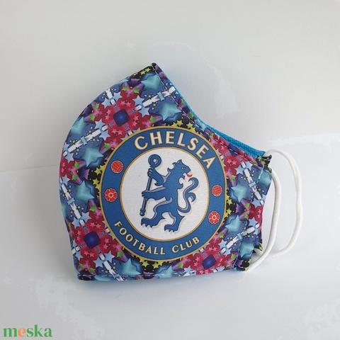 Chelsea focis maszk, arcmaszk - Meska.hu