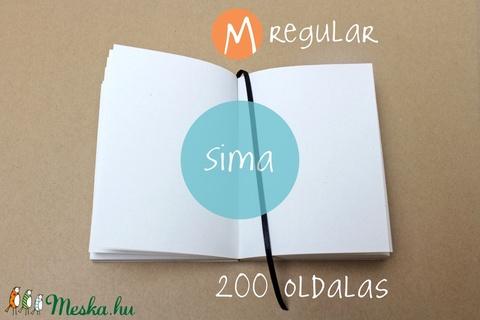 M-es SIMA noteszBELSŐ (noteshell) - Meska.hu