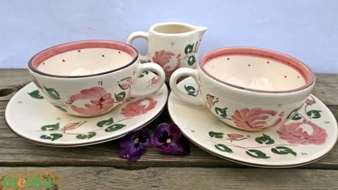 Egy tea veled romantikus rózsásan - Meska.hu
