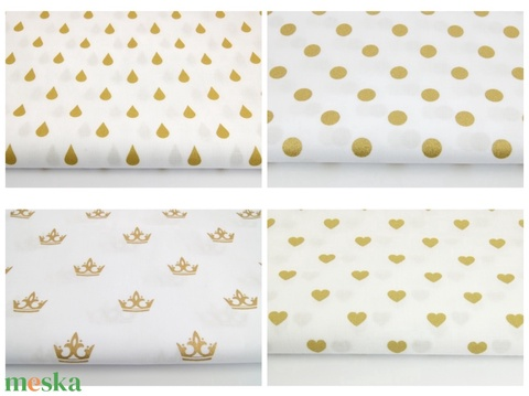 Szennyestartó arany fehér színben - fali szennyes tartó - plüss állat tároló - függő textil kosár - textil zsák - Meska.hu