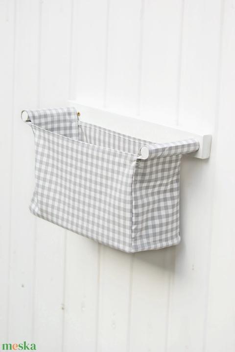 Textil zsák és fali tároló, ideális konyhai tároló, fürdőszobai tároló, több színben is - Meska.hu