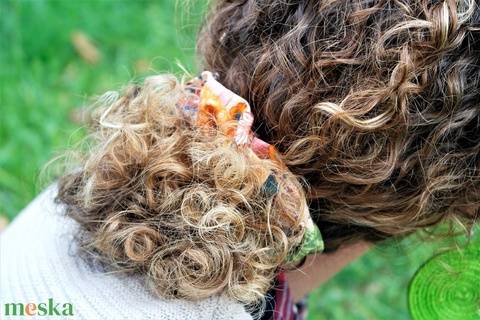 Vegyes mintás hajgumi szett - Elasztik hajgumi - Kalocsai mintás kiegészítő - Scrunchie hajgumi  (OkosTaRska) - Meska.hu