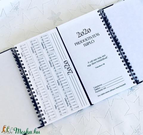 Nőknek NÉVRE SZÓLÓ 2020-as AJÁNDÉK Határidőnapló / Produktivitás napló / Csajos karácsonyi ajándék ötlet - Pöttyös Piros (OromKonnyek) - Meska.hu
