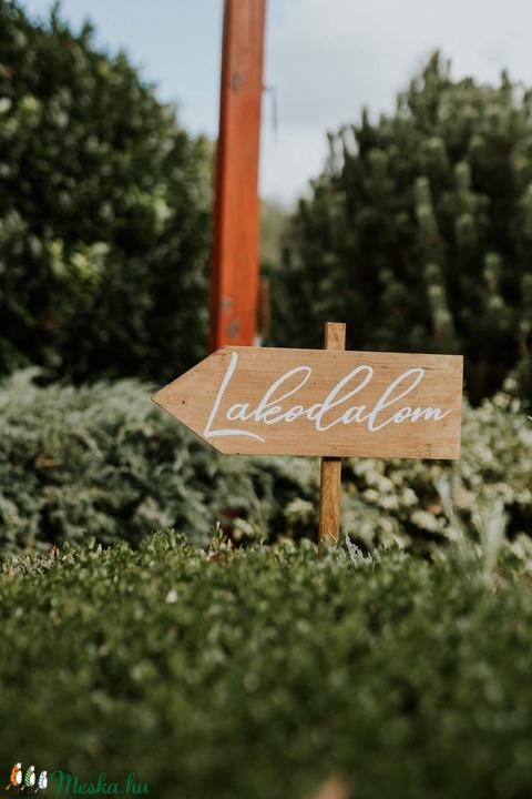 Esküvői irányító tábla - Meska.hu