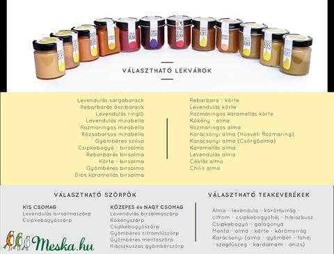 Petényi Kamra / Közepes csomag ízbomba az általad választott ízekből (PetenyiKamra) - Meska.hu