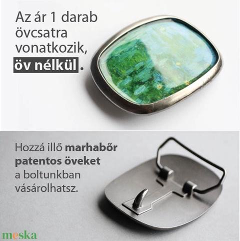Kalocsai övcsat fehérben (ovcsatbolt) - Meska.hu