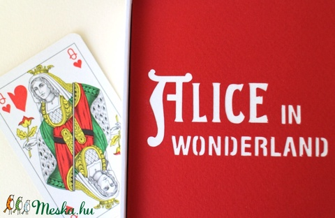 Alice csodaországban (papirforma) - Meska.hu
