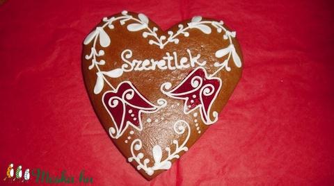 Tulipános szív (phoenix) - Meska.hu