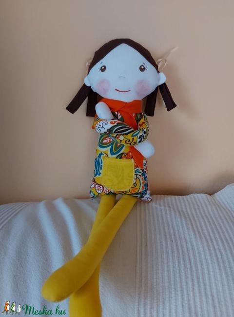 Álomhozó baba (sárga) (pillenyek) - Meska.hu