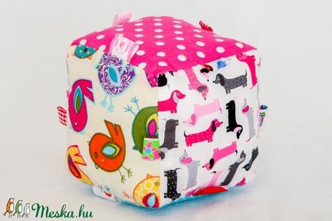 Babakocka - fejlesztőjáték - egyedi tervezésű kézműves játék - öko pamut gyerekjáték (Pindiart) - Meska.hu