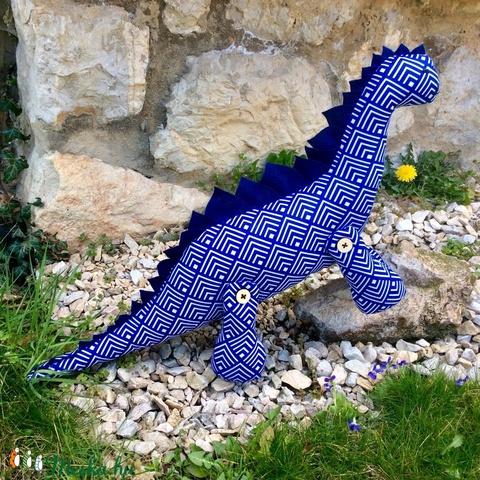 Dinó játék- egyedi tervezésű kézműves játék - dinoszaurusz textiljáték - gyerekjáték - állat figura (Pindiart) - Meska.hu