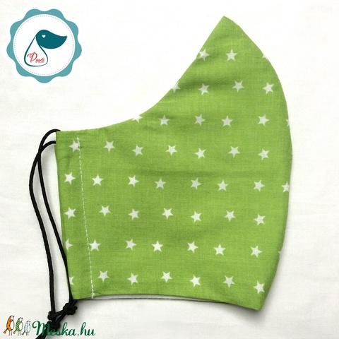Egyedi szájmaszk - férfi csillagos szájmaszk - textil szájmaszk - egészségügyi szájmaszk (Pindiart) - Meska.hu