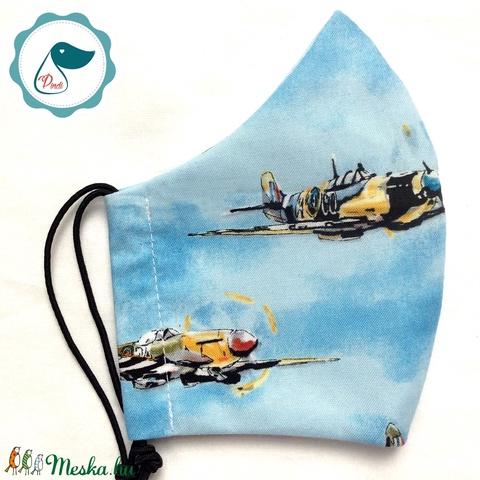 Egyedi szájmaszk - felnőtt repülős női és teenager szájmaszk - textil szájmaszk - egészségügyi szájmaszk (Pindiart) - Meska.hu